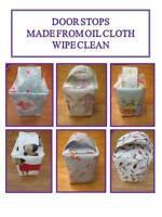 Oil Cloth Door Stops - Gift Idea