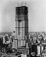 New 8x10 Photo: Construction of the Empire State Building in 1930 - New York