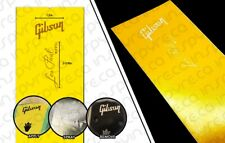 Gibson Les Paul Stencil / Paint Mask / Frisket Luthier Tool DIY