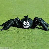 Jumbo Spider Garden Lawn Bag Outdoor Halloween Party Decorations Supplies Black
