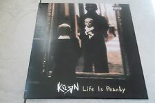 KORN  LIFE IS PEACKY LP UK 2002