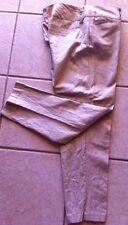 Heart Soul Pants, NWT, Size 11,Gold, Juniors, Linen Blends, Flat Front, Shimmer
