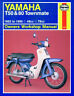 HAYNES WORKSHOP SERVICE REPAIR MANUAL YAMAHA T50 T80 TOWNMATE 1983-1995