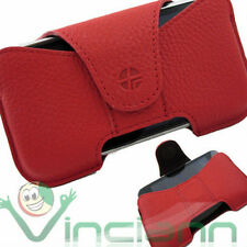 Custodia URSA cover vera pelle ROSSO per iPhone 3Gs 3G
