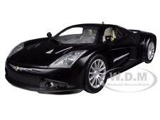 CHRYSLER ME FOUR TWELVE BLACK 1/24 DIECAST CAR MODEL BY MOTORMAX 73277