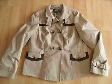MEXX tolle Jacke im Stil eines Trenchcoats beige Gr. 38  03-14