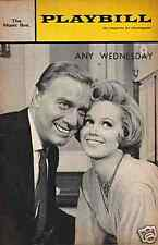 "Barbara Cook ""Any Wednesday"" Playbill 1965  Cover Photo"
