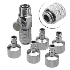 """Airbrush Quick Release Coupling Disconnect Adapter 1/8"""" Plugs Fitting Part HS941"""