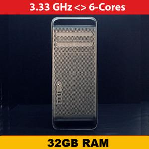 Mac Pro   3.33 Ghz 6-Cores   32GB RAM   1TB NVME + 1TB HDD   AMD 7950 3GB
