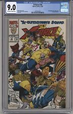 X-FORCE #16 CGC 9.0 OWTW PGS. POLY-BAG EDITION TRADING CARD NOT INCL.!!