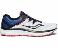 Saucony S20415-4 Guide ISO White Blue ViZi Red Men's Running Shoes