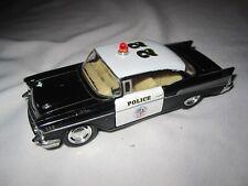 Kinsmart 1957 Chevrolet Bel Air Police Car 1:40 Pull-Back
