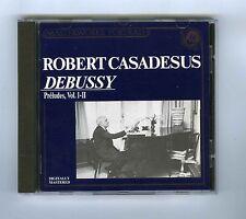 CD DEBUSSY ROBERT CASADESUS PRELUDES VOL I & II (PORTRAIT)