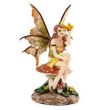 Golden Butterfly Faery Fairy Figurine Faery Figure Amy Brown faerie statue