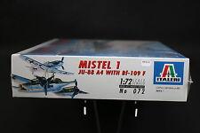 XX113 ITALERI 1/72 maquette avion 072 Mistel 1 JU-88 A4 with Bf-109 F JU88 1996