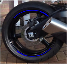 10 RIM RACING FIT gsxf bandit zx-6r sx1000 sv650 triumph ZRX BMW MV SCOOTER BLUE
