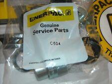 C 604 Enerpac 38 Hi Flow Coupler 1pc Genuine Enerpac Coupler