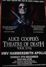 RARE CD+DVD- BGP2 525541- Alice Cooper-Theatre Of Death-Live At Hammersmith 2009