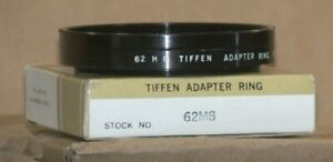 Tiffen 62mm M 8 Screw-On Adapter with Retaining Ring