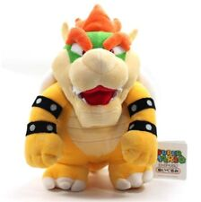 Super Mario Bros Bowser King Koopa Plush Doll Stuffed Soft Toy 10 inch Kids Gift