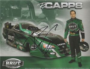 2005 Ron Capps signed Brut Dodge Charger Funny Car NHRA Hero Card