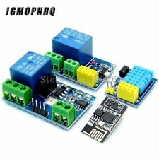 ESP8266 ESP-01 ESP-01S 5V WIFI Relay Module DHT11 Temperature Humidity Sensor