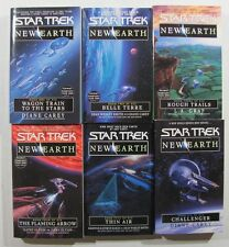 Star Trek New Earth - six book series - NEW PB - by Diane Carey & others