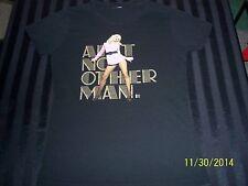 Christina Aguilera 2006 Back to Basics concert tour small black t-shirt