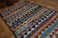 nr 94 Handgewebter VINTAGE Teppich KURDISTAN NOMADEN KILIM KELIM ca 270 x 150
