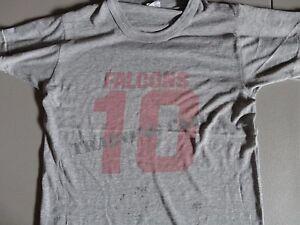 Vtg 70's Champion Tag Gray Atlanta Falcons NFL Training Camp t-Shirt Adult S
