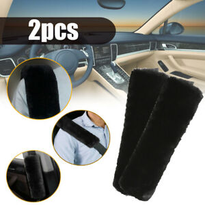 2*Car Safety Seat Belt Shoulder Pad Cover Cushion Harness Comfortable Driving