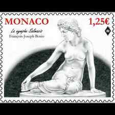 monaco 2015 nu in art nymph Salmacis sculpture François Joseph Bosio 1v mnh **