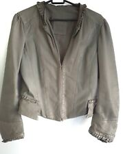 Kate moss x topshop leather jacket 10 victorian €150