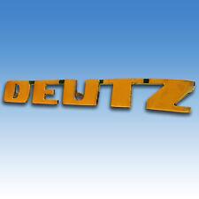 DEUTZ Haubenschriftzug Schriftzug  D15  D25  D30  D40  D50 Emblem Traktor