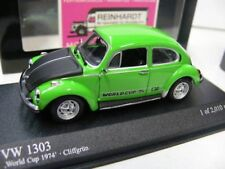 1/43 Minichamps VW Escarabajo 1303 World Cup 74 cliffgrün 430055115