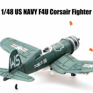 1/48 US NAVY F4U Corsair Fighter Plastic Aircraft Model Assemble Sandbox DIY
