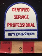 Butler Aviation Certified Service Professional Patch 87N7