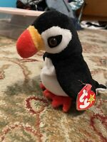 TY BEANIE BABY PUFFER RARE RETIRED ERRORS  STAMPED TUSH TAG DATED 1997