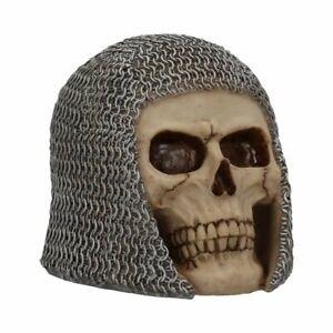 Figur, Fantasy, Tod, Schädel, Chainmail Skull