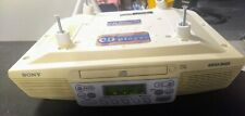 Sony Icf-Cd533 Kitchen Clock Radio with Cd Player - Works Great