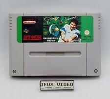 Jimmy Connors Pro Tennis Tour SNES Super Nintendo PAL