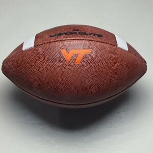 2019 Virginia Tech Hokies Game Ball Nike Vapor Elite NCAA Football - ACC
