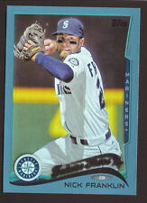 Nick Frankliin--2014 Topps Blue Border Future Stars--Seattle Mariners