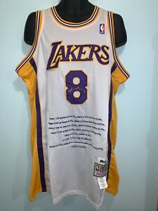 LA Lakers 8 Kobe Bryant Limited Edition Basketball Hardwood Classic Jersey Man