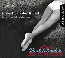~ FÜNF VIERTELSTUNDEN BIS ZUM MEER ~ 2 CDs ~ Ernest van der Kwast ~ OVP