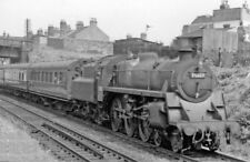 PHOTO  LAWRENCE HILL BR STANDARD 4-6-0 75027 ON LOCAL TRAIN 1959