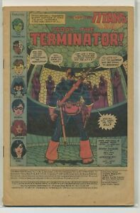 New Teen Titans 2 First Deathstroke Coverless Key!