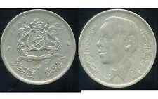 MOROCCO  MAROC   1 dirham 1969     ( etat )