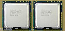MATCHED PAIR Intel SIX-CORE XEON X5680 3.33GHz 12M 6 CORE SLBV5 CPU Processors