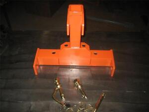 OMNI  3 Point Combo Kubota BX  Series Sub Compact Tractor Trailer Hitch w/ pins